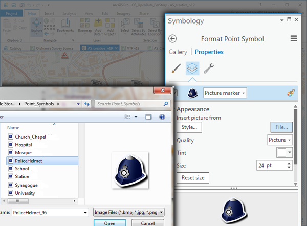 Working with Fonts and Sprites: Being Creative with Esri
