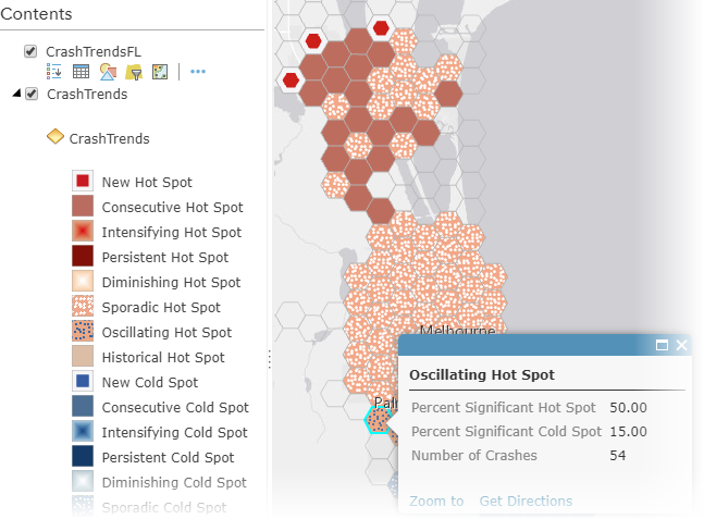 Map with pop-ups in ArcGIS Online