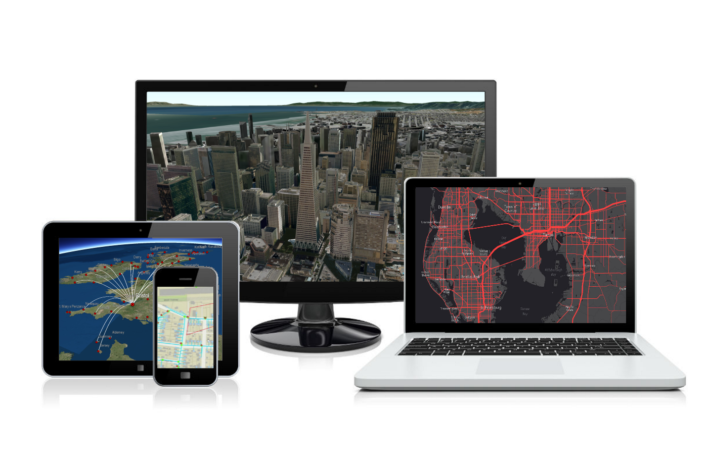 Gis Mapping Companies Esri Amp Pubnub Real Time Location Strategy Technology For