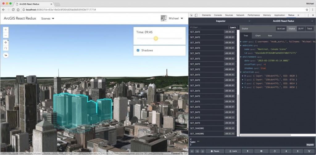 Redux Dev Tools Extension Screenshot