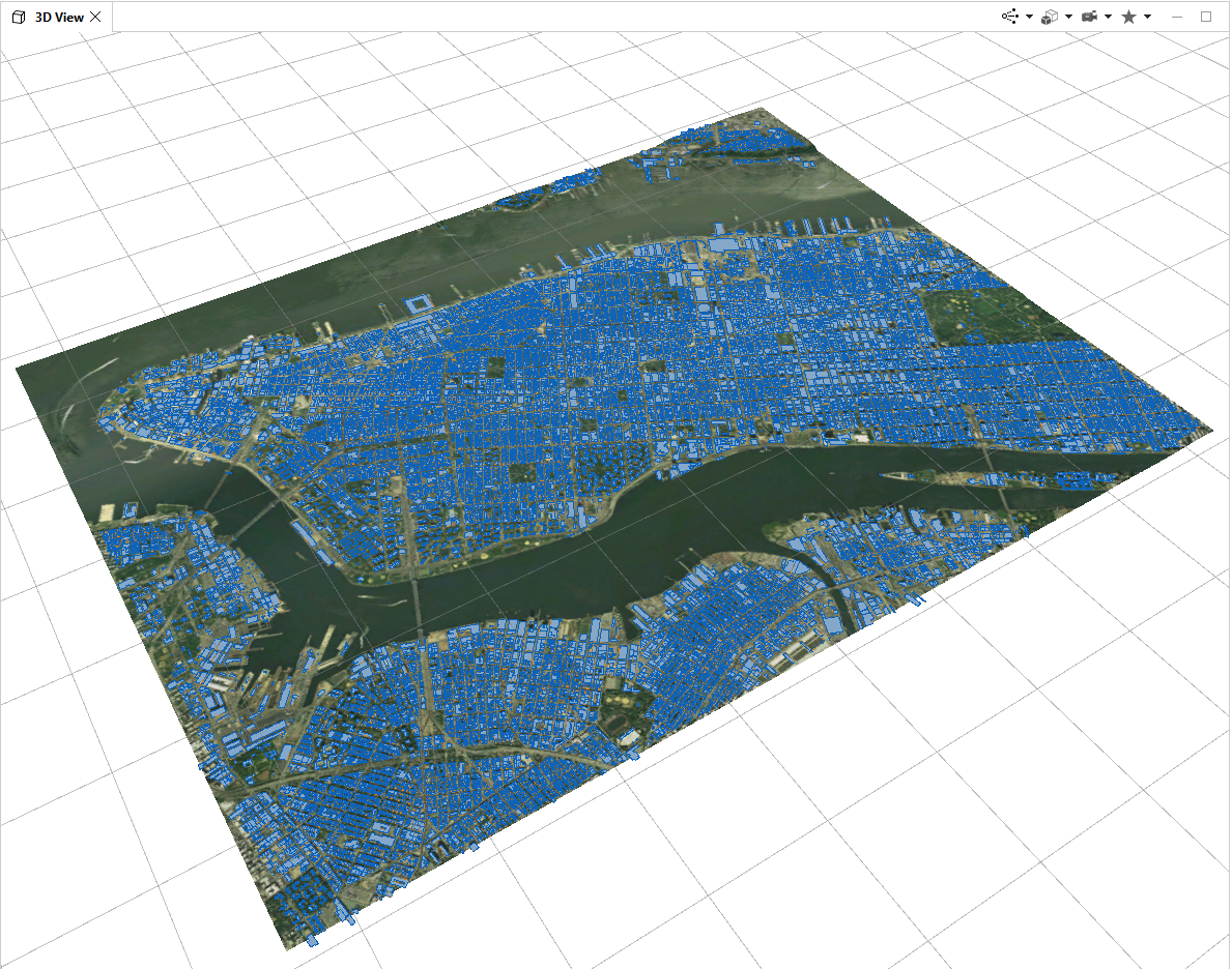 Import Terrain, Imagery, & OSM data into CityEngine