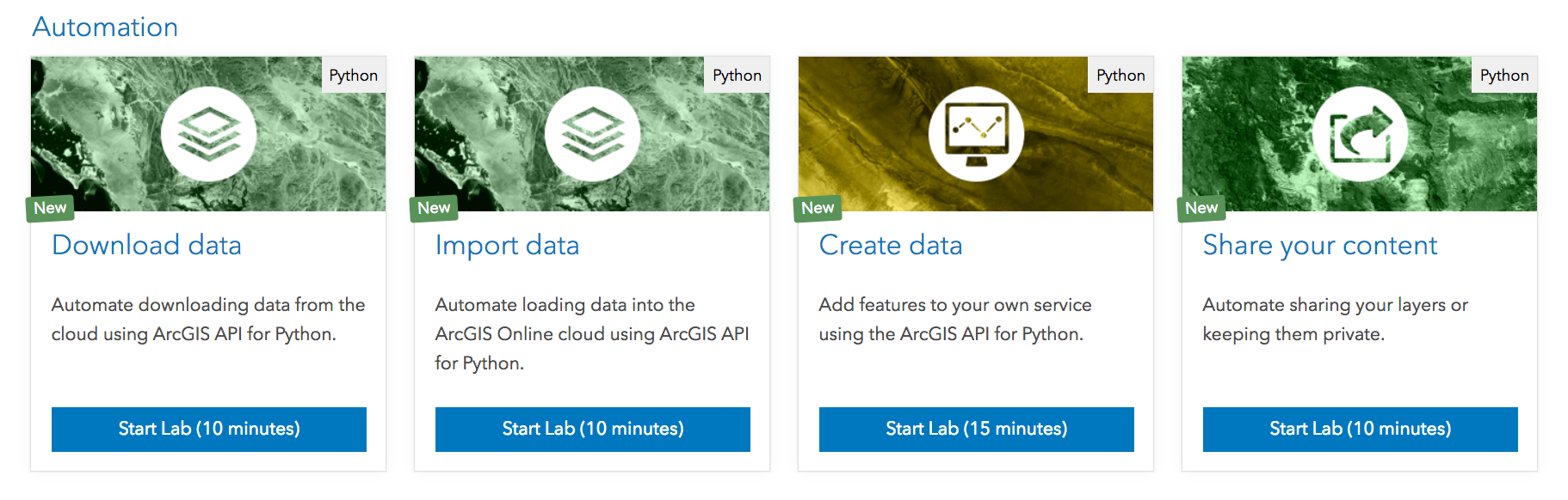 ArcGIS for Developers: Build apps with over 30 new DevLabs!
