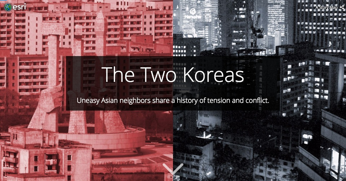 "The Making of the ""Two Koreas"" Story Map"