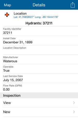 Hydrant attributes