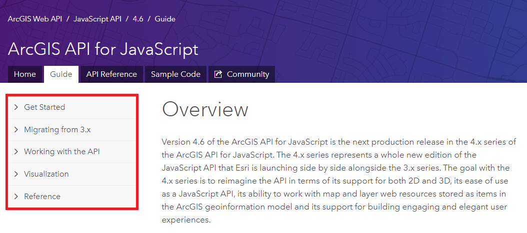 Tips and Tricks for Navigating the ArcGIS API for JavaScript
