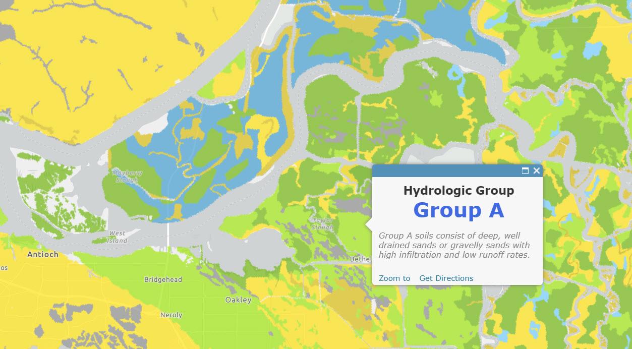 USA Soils Hydrologic Group