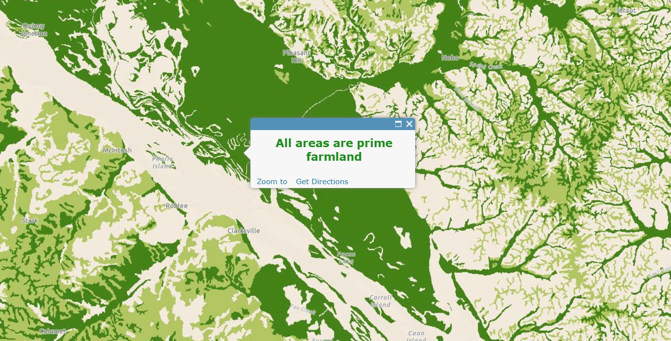 USA Soils Farmland Class