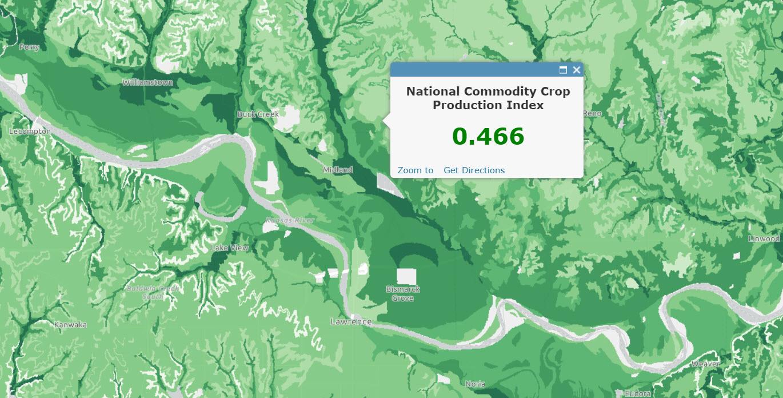 USA Soils Crop Production