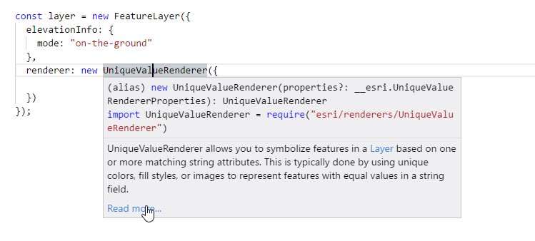 Improved TypeScript development with ArcGIS API for JavaScript