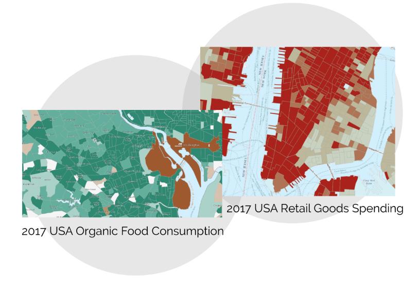 U.S. demographic data in Living Atlas