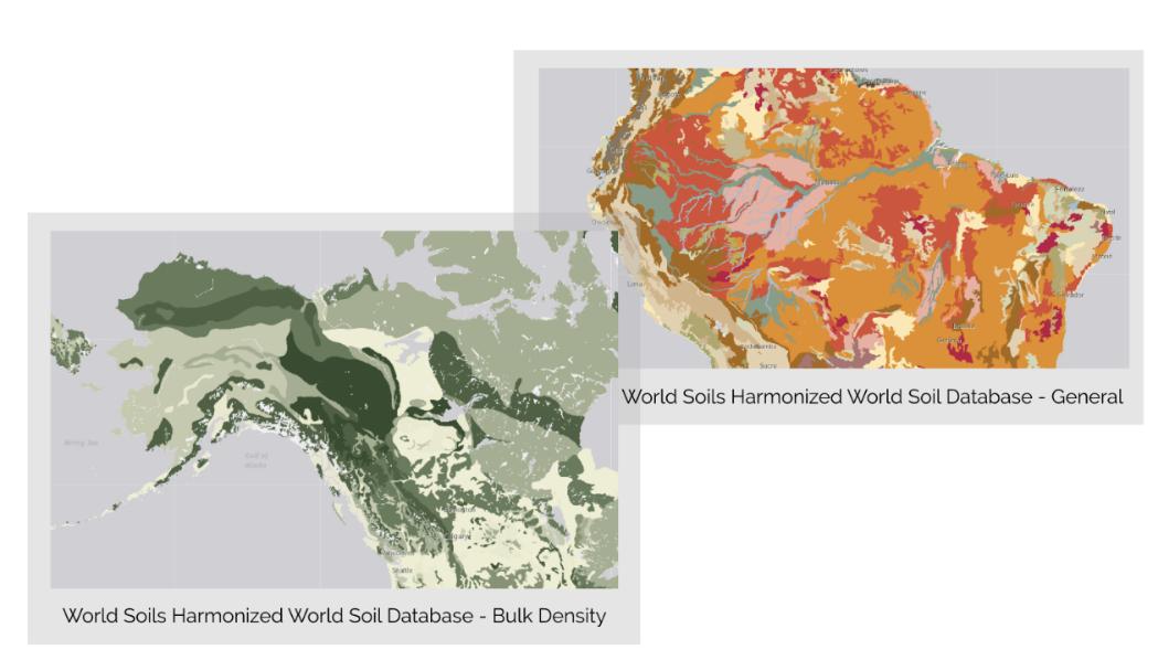 Landscape layer data in Living Atlas