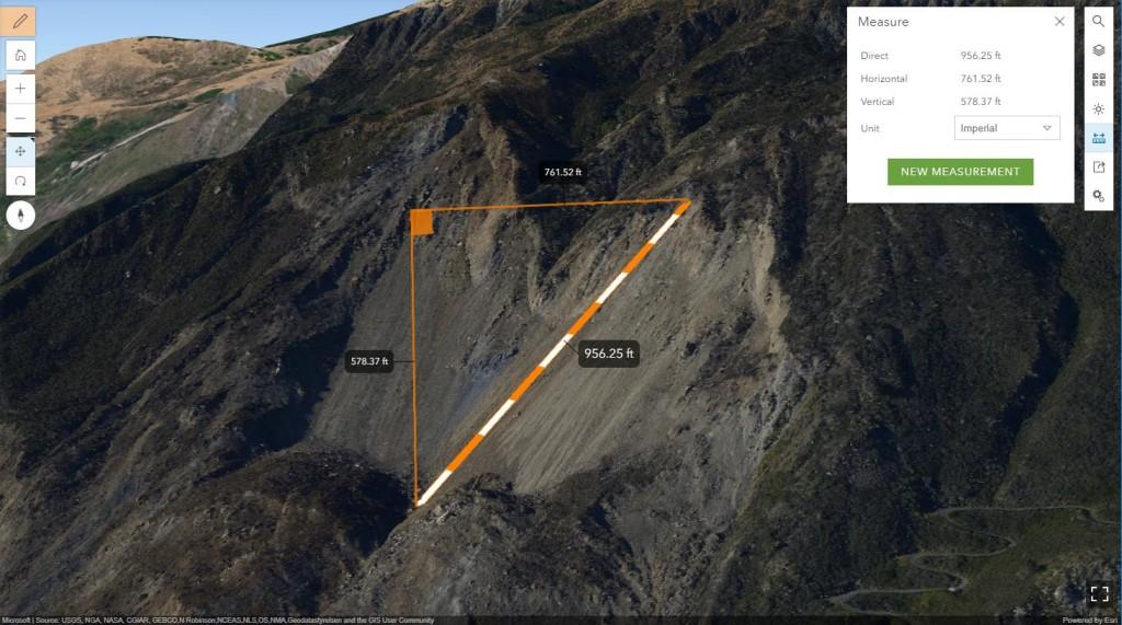 3D Mud Creek, CA Landslide in ArcGIS Online