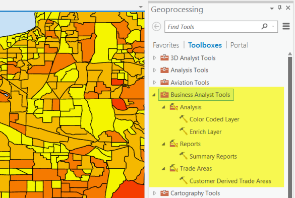 ArcGIS Business Analyst Tools