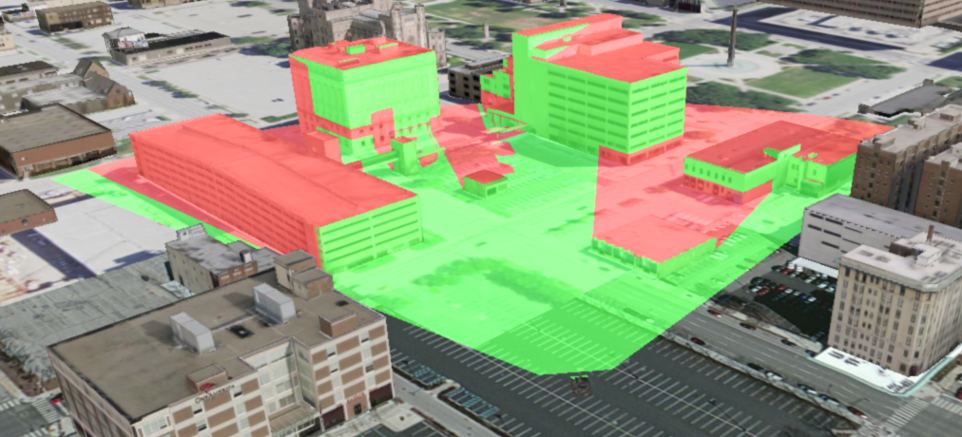 3D analysis using the ArcGIS Runtime SDKs
