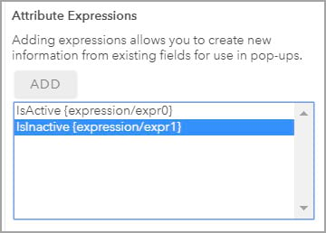 Attribute Expressions
