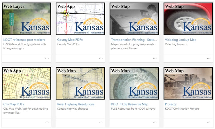 Kansas DOT thumbnails