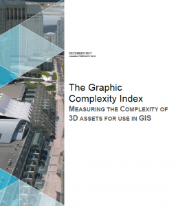 The Graphic Complexity Index is used to describe 3D models used in GIS