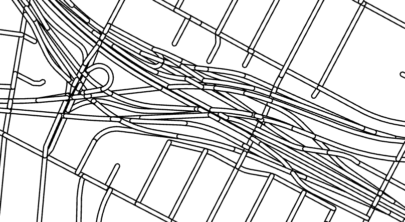 interchange without symbol layer drawing