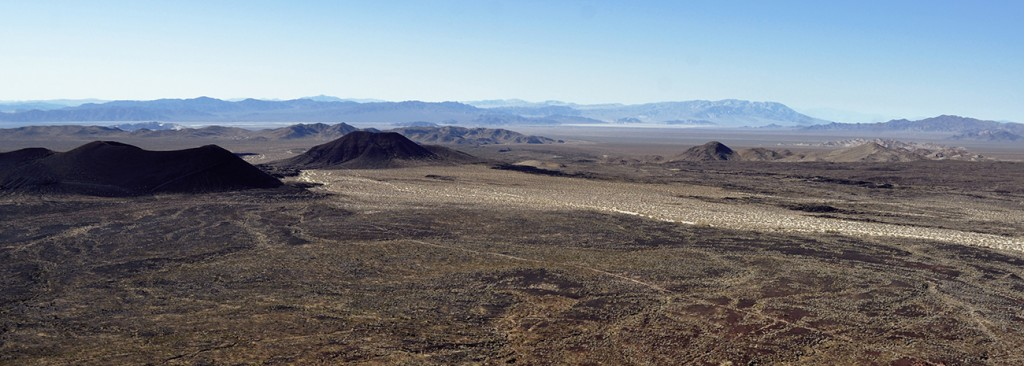 Photo of cinder cones