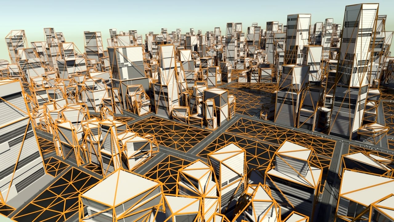 Palladio: an open-source CityEngine plugin for Houdini