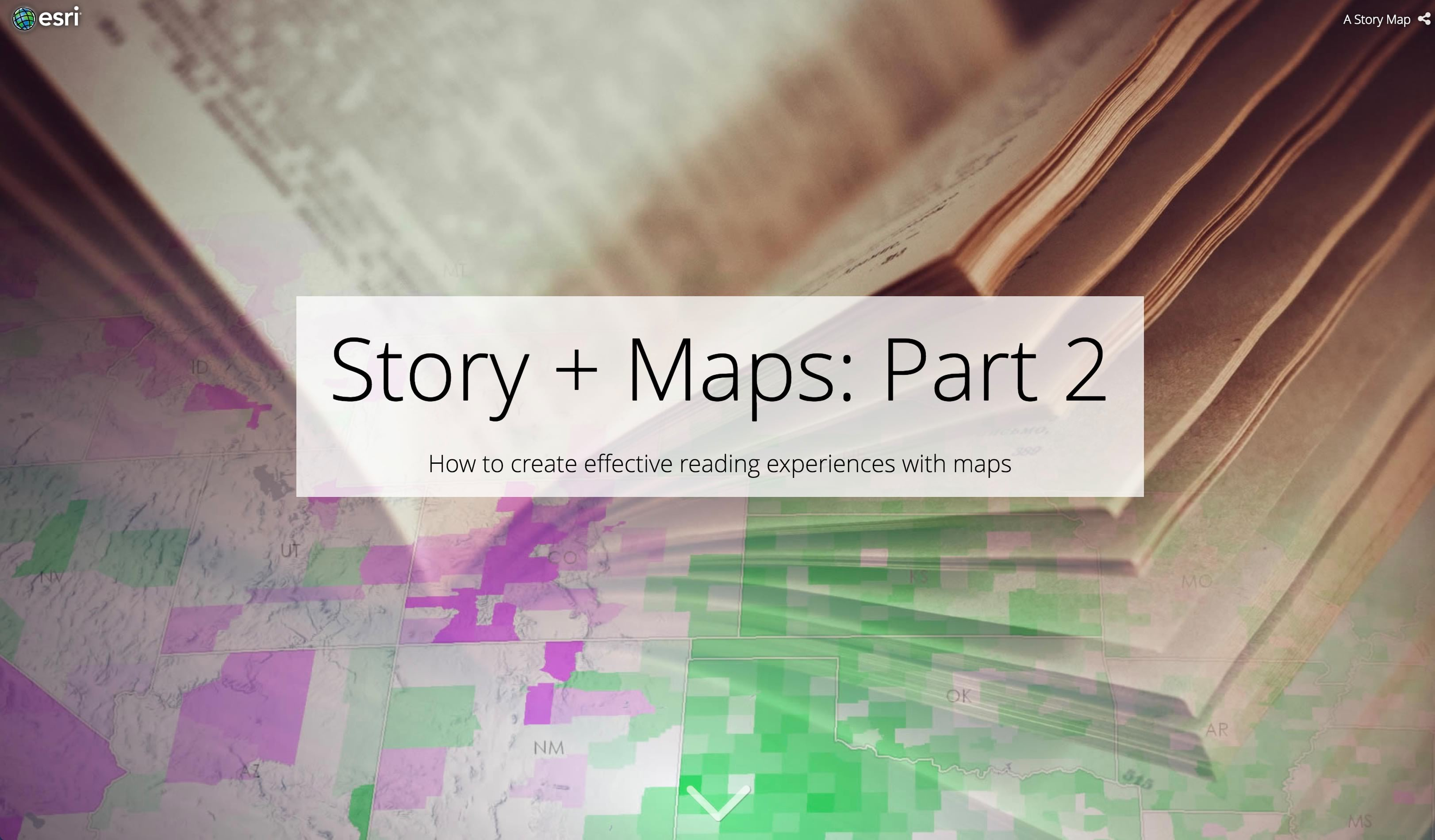 Story + Maps: Part 2