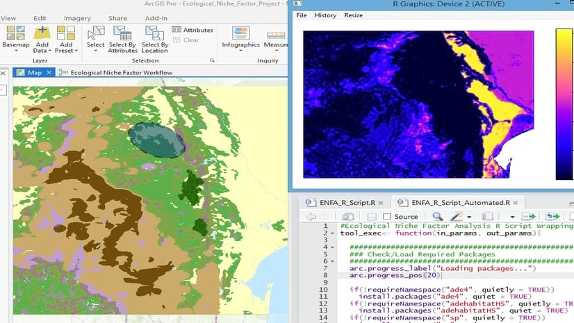 From Features to Pixels, The R-ArcGIS Bridge Gets Your Data
