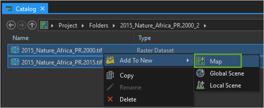 Add malaria data files