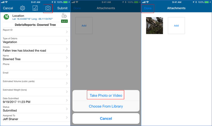 Add attributes and a photo