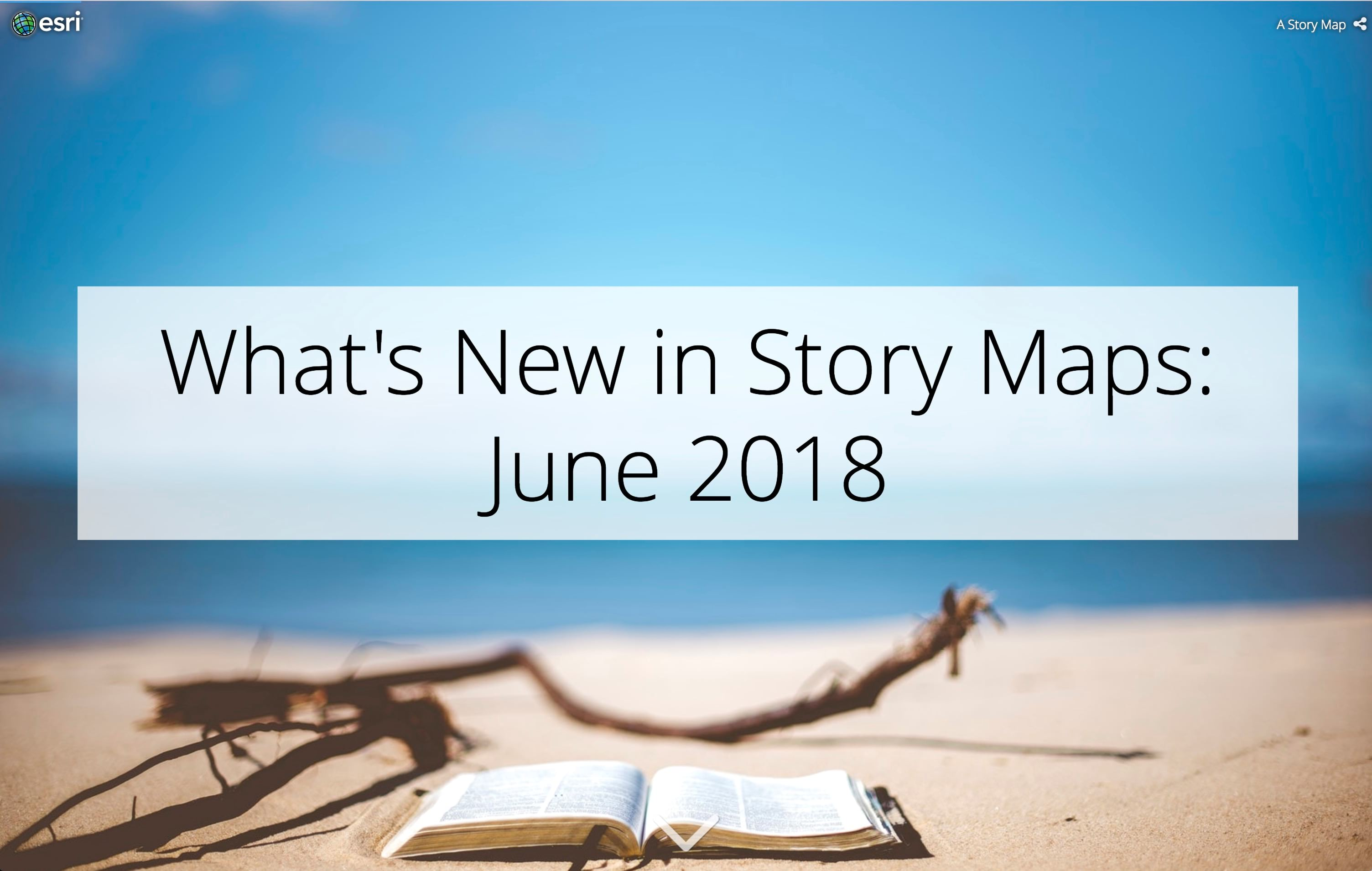 What's New in Story Maps: June 2018