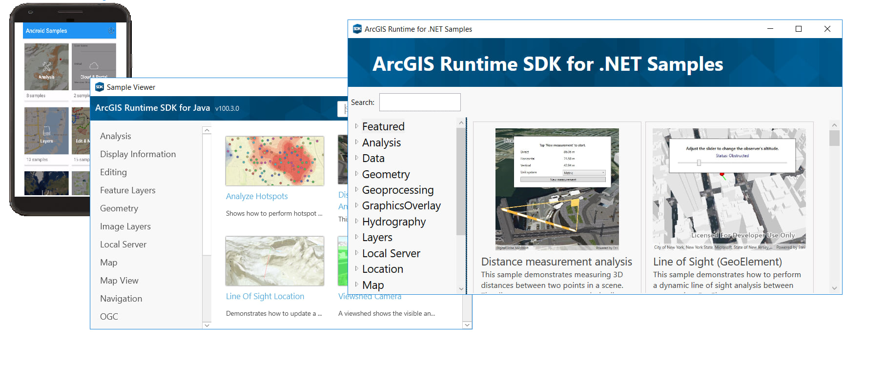 What's new in the ArcGIS Runtime SDK 100 3 release