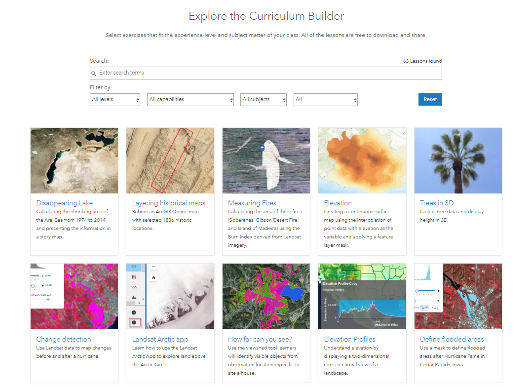 Curriculum Builder