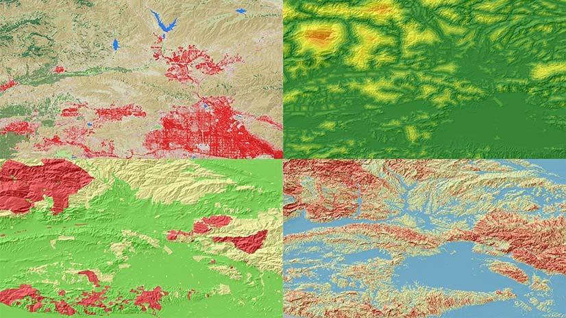 Resultado de imagen para spatial analyst arcgis pro raster analysis