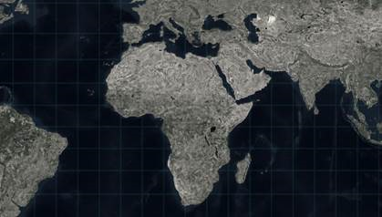 map pf Africa and surrounding continents