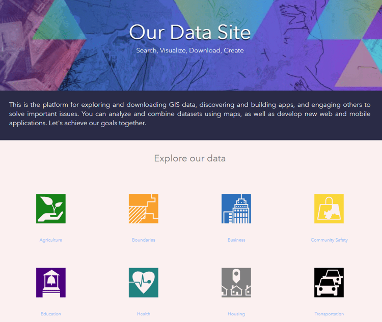 ArcGIS Enterprise Sites