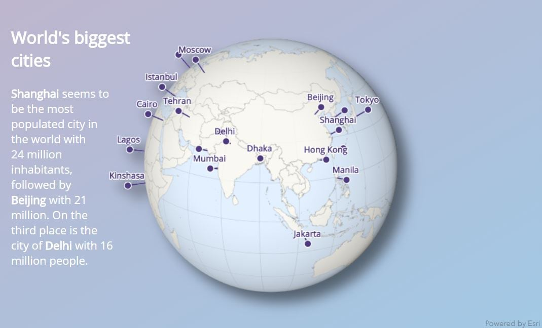 Get creative with globe visualizations