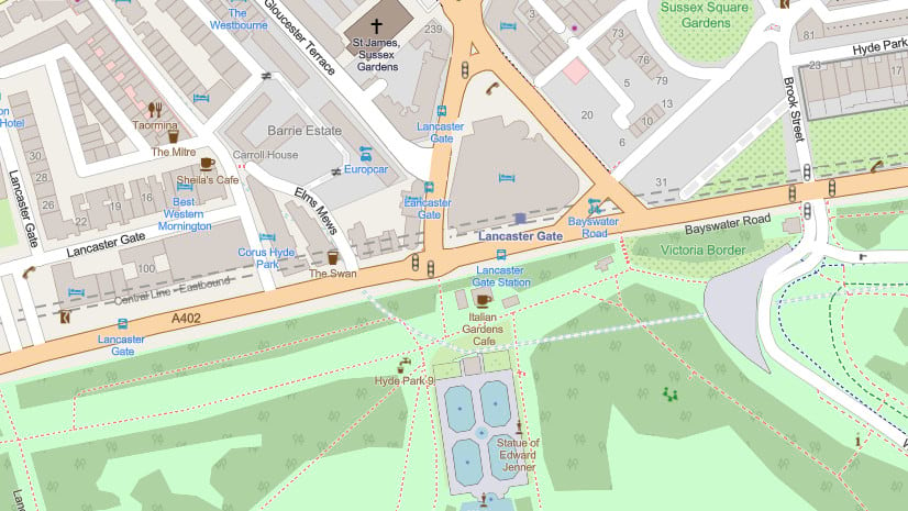 New OpenStreetMap Vector Basemap Available
