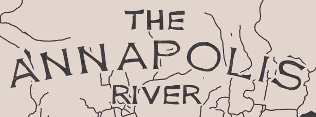 "Map title: ""The Annapolis River'"