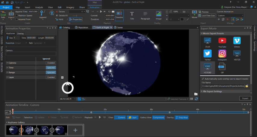 How to Build Compelling Globe Animations for Story Maps
