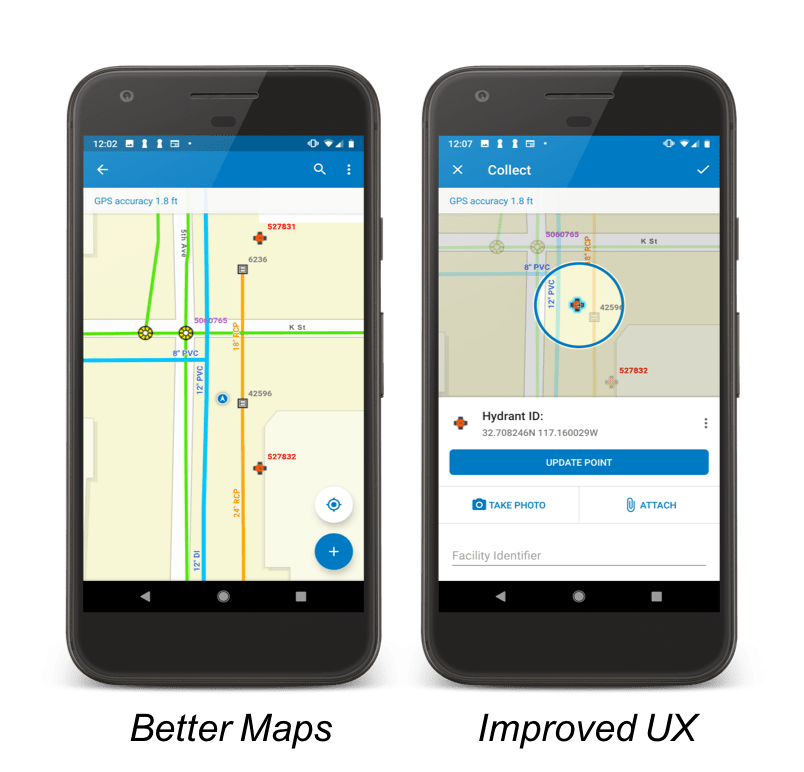 Collector for ArcGIS (Aurora on the Android Platform)
