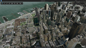 San Francisco Pictometry data in ArcGIS Earth