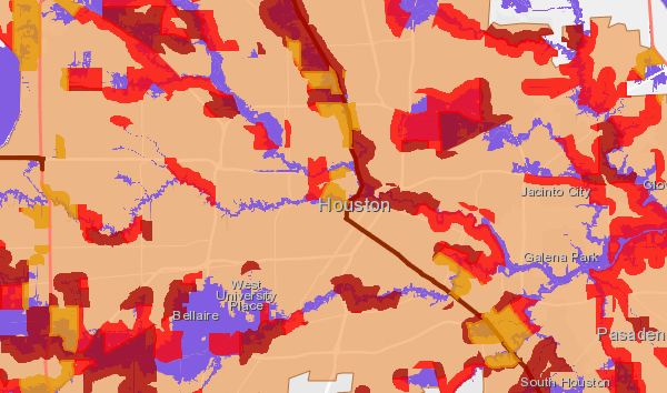 Medium flood risk