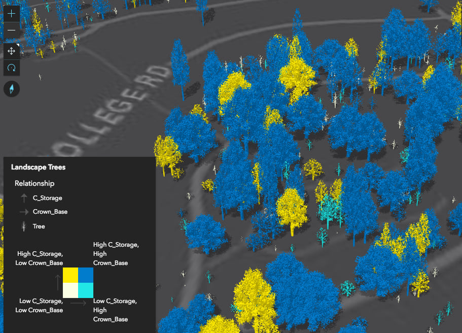 Smart Mapping with Arcade: Exploring relationships