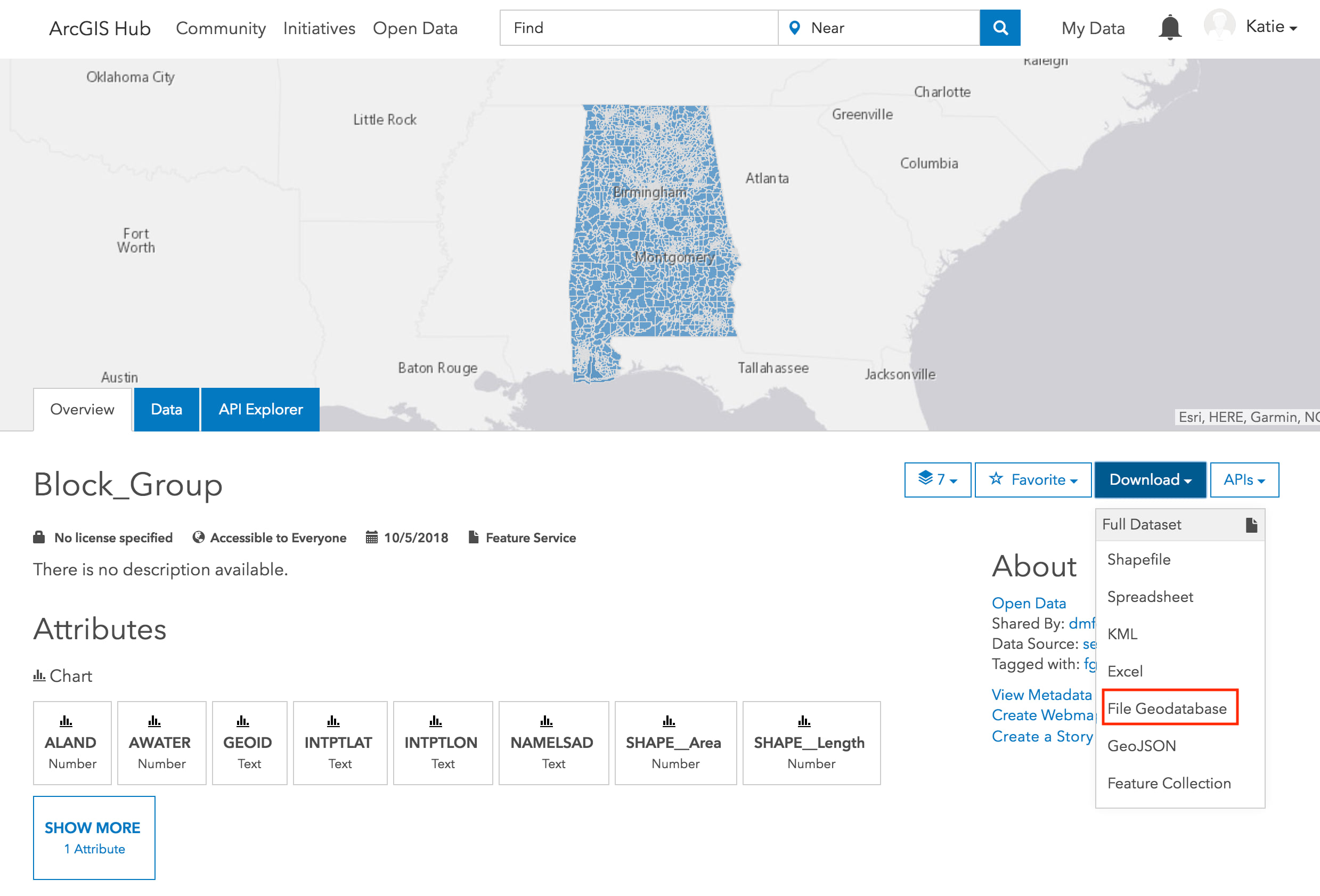 Share File Geodatabases for Download on your ArcGIS Hub sites