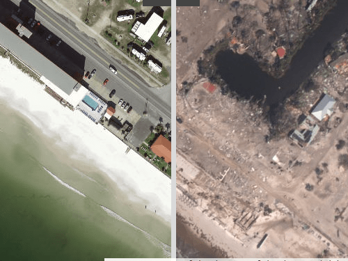 Hurricane Michael: Before and After Images of Destruction
