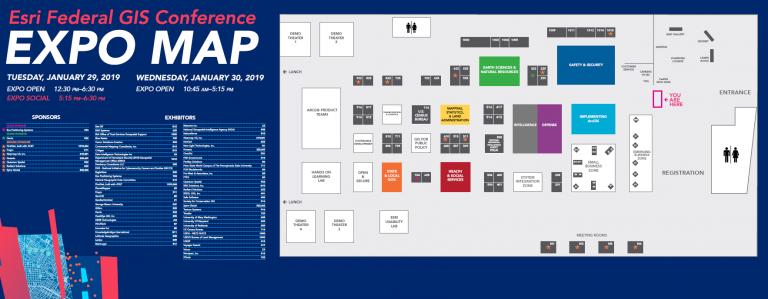 2019 FedGIS Floorplan