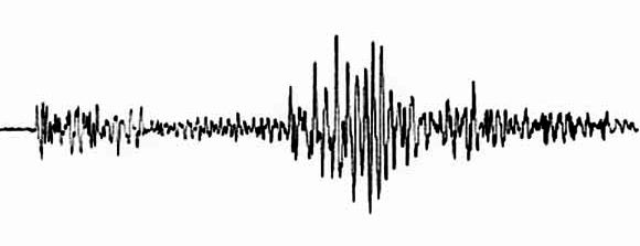 The first 30 seconds of the 6.9 Richter magnitude Loma Prieta earthquake that struck the Bay Area along the San Andreas Fault in California on October 17, 1989.