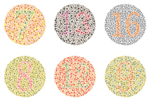 Color Vision Deficiency Test from the U.S. National Institutes of Health