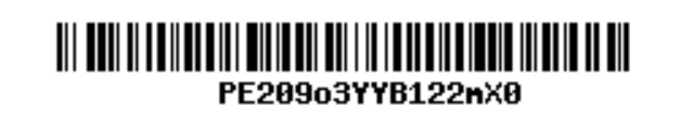 Example barcode