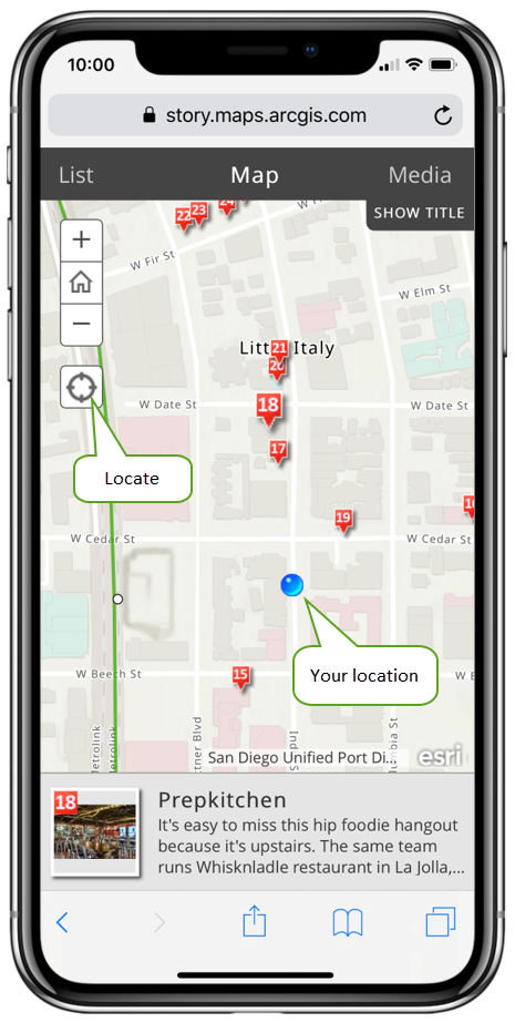 Enable location in your Story Map on map notes, map services, map name, map location icon iphone, map san diego, map traffic, map nashville, map new orleans, map street view, map sacramento,
