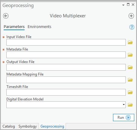 Video Multiplexer tool